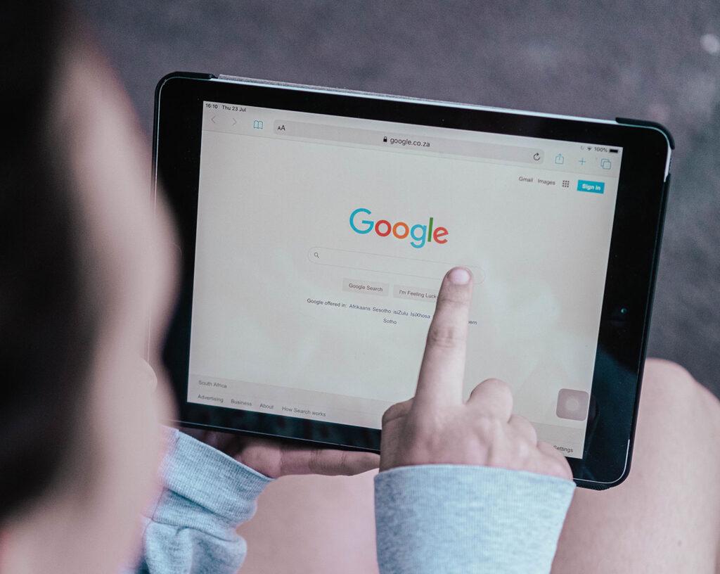 Posicionamiento de empresas en Google
